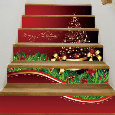 Buy Christmas Star Tree Pattern Decorative Stair Decals, COLORMIX, Home & Garden, Home Decors, Wall Art, Wall Stickers for $18.46 in GearBest store