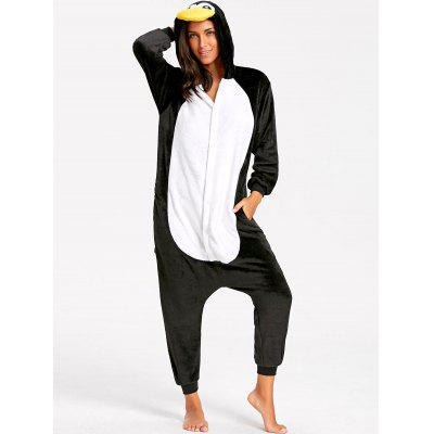 Penguin Baby Animal Onesie Pajama for AdultPajamas<br>Penguin Baby Animal Onesie Pajama for Adult<br><br>Fabric Type: Fleece<br>Material: Polyester<br>Package Contents: 1 x Pajama<br>Pattern Type: Animal<br>Weight: 0.5200kg