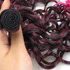 6Pcs Medium Ombre Shaggy Wavy Synthetic Hair Weaves - ROSA