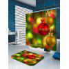 Light-spot and Baubles Pattern Waterproof Shower Curtain - COLORFUL