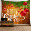 Merry Christmas Balls Print Wall Art Tapestry - COLORMIX