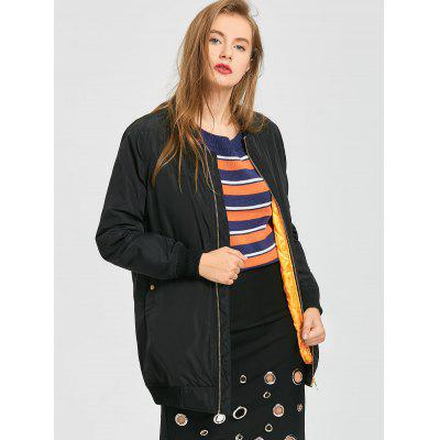 Puffer Zip Up Coat with PocketsJackets &amp; Coats<br>Puffer Zip Up Coat with Pockets<br><br>Collar: Stand-Up Collar<br>Material: Polyester<br>Package Contents: 1 x Coat<br>Pattern Type: Solid<br>Shirt Length: Long<br>Sleeve Length: Full<br>Style: Casual<br>Type: Wide-waisted<br>Weight: 0.7100kg