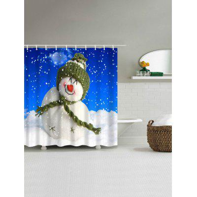 Christmas Cute Snowman Print Waterproof Polyester Bath CurtainShower Curtain<br>Christmas Cute Snowman Print Waterproof Polyester Bath Curtain<br><br>Materials: Polyester<br>Number of Hook Holes: W59 inch*L71 inch: 10; W71 inch*L71 inch: 12; W71 inch*L79 inch: 12<br>Package Contents: 1 x Shower Curtain 1 x Hooks (Set)<br>Pattern: Snowman<br>Products Type: Shower Curtains<br>Style: Festival