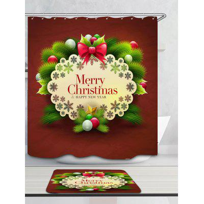 Merry Christmas Decorations Pattern Bath CurtainShower Curtain<br>Merry Christmas Decorations Pattern Bath Curtain<br><br>Materials: Polyester<br>Number of Hook Holes: W59 inch * L71 inch:10, W71 inch * L71 inch:12, W71 inch * L79 inch:12<br>Package Contents: 1 x Shower Curtain 1 x Hooks (Set)<br>Pattern: Ball,Print<br>Products Type: Shower Curtains<br>Style: Festival