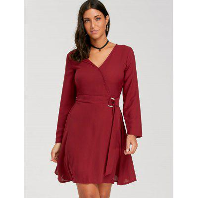 Mini V Neck Skater DressWomens Dresses<br>Mini V Neck Skater Dress<br><br>Dresses Length: Mini<br>Material: Polyester, Spandex<br>Neckline: V-Neck<br>Occasion: Casual<br>Package Contents: 1 x Dress<br>Pattern Type: Solid Color<br>Season: Fall, Spring<br>Silhouette: A-Line<br>Sleeve Length: 3/4 Length Sleeves<br>Style: Casual<br>Weight: 0.3700kg<br>With Belt: No