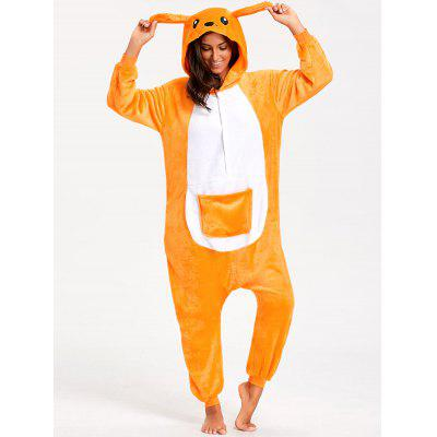 Kangaroo Animal Onesie Pajamas for Adult
