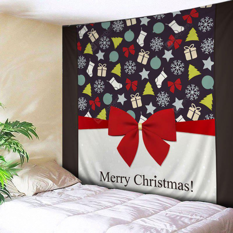 Wall Hanging Art Merry Christmas Theme Print Tapestry