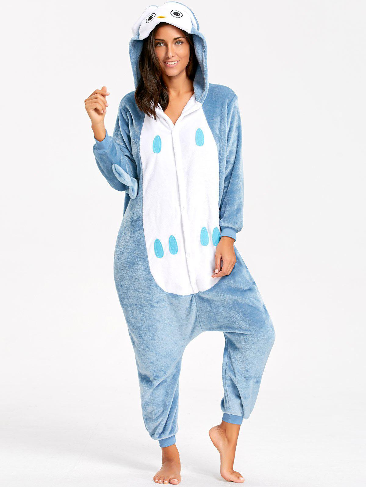 Owl Animal Onesie Pajama for Adult