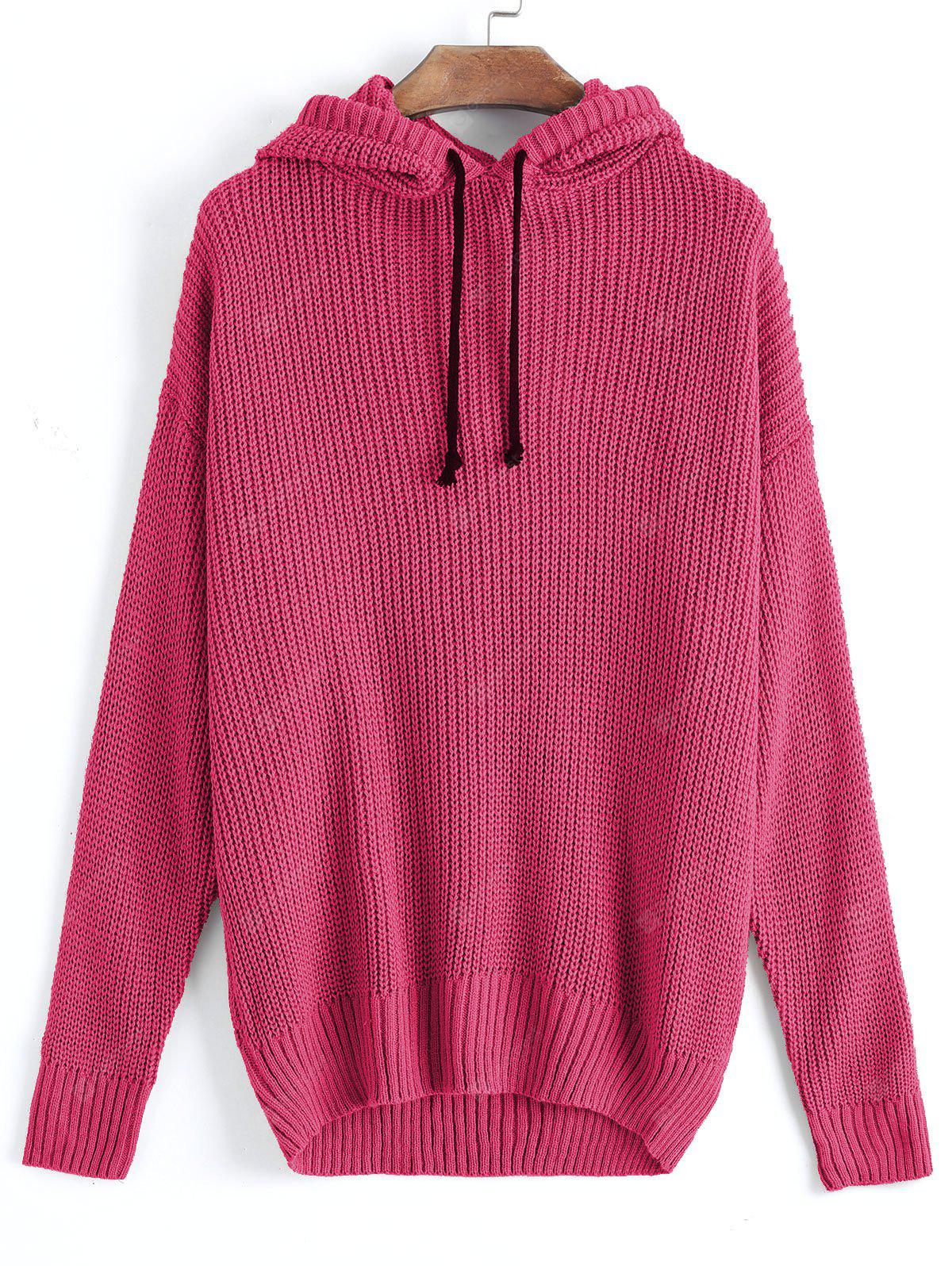Hooded Oversized Pullover Sweater