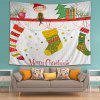 Wall Hanging Art Christmas Fairy Stockings Print Tapestry - COLORMIX