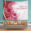 Wall Hanging Art Merry Christmas Balls Print Tapestry - COLORMIX