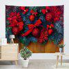 Christmas Decorative Balls Print Wall Hanging Tapestry - COLORMIX