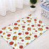 Christmas Baubles Bells Pattern Water Absorption Area Rug - COLORMIX