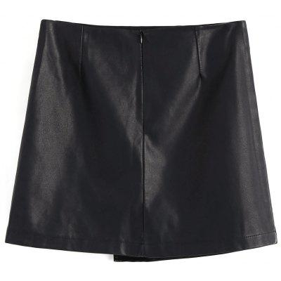 Faux Leather Floral Applique Mini SkirtSkirts<br>Faux Leather Floral Applique Mini Skirt<br><br>Length: Mini<br>Material: PU Leather<br>Package Contents: 1 x Skirt<br>Pattern Type: Floral<br>Silhouette: Asymmetrical<br>Weight: 0.3400kg<br>With Belt: No