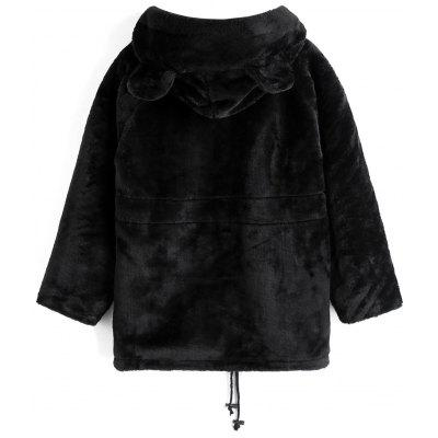 Drawstring Hooded Faux Fur CoatJackets &amp; Coats<br>Drawstring Hooded Faux Fur Coat<br><br>Closure Type: Zipper<br>Clothes Type: Fur &amp; Faux Fur<br>Collar: Hooded<br>Embellishment: Pockets<br>Material: Polyester<br>Package Contents: 1 x Coat<br>Pattern Type: Solid<br>Shirt Length: Regular<br>Sleeve Length: Full<br>Style: Casual<br>Type: Wide-waisted<br>Weight: 0.6500kg