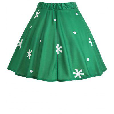Christmas Santa Claus Snowflake Print Plus Size SkirtPlus Size<br>Christmas Santa Claus Snowflake Print Plus Size Skirt<br><br>Length: Mini<br>Material: Polyester<br>Package Contents: 1 x Skirt<br>Pattern Type: Print<br>Season: Winter<br>Silhouette: A-Line<br>Weight: 0.2600kg<br>With Belt: No