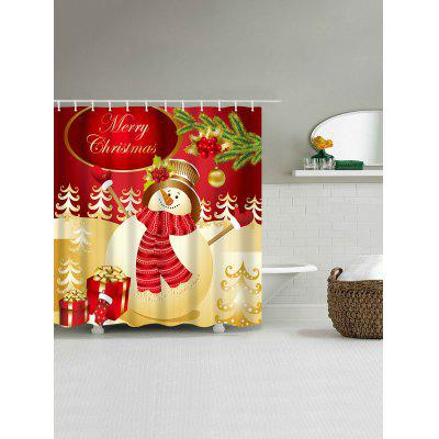 Christmas Snowman Gifts Print Waterproof Shower CurtainShower Curtain<br>Christmas Snowman Gifts Print Waterproof Shower Curtain<br><br>Materials: Polyester<br>Number of Hook Holes: W59 inch*L71 inch: 10; W71 inch*L71 inch: 12; W71 inch*L79 inch: 12<br>Package Contents: 1 x Shower Curtain 1 x Hooks (Set)<br>Pattern: Gift,Snowman<br>Products Type: Shower Curtains<br>Style: Festival
