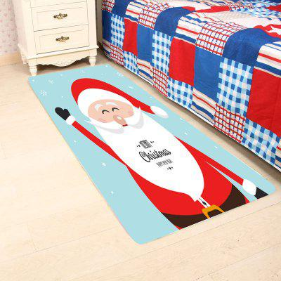 Happy Santa Claus Pattern Antiskid Area RugCarpets &amp; Rugs<br>Happy Santa Claus Pattern Antiskid Area Rug<br><br>Materials: Coral FLeece<br>Package Contents: 1 x Area Rug<br>Pattern: Santa Claus<br>Products Type: Bath rugs<br>Style: Festival