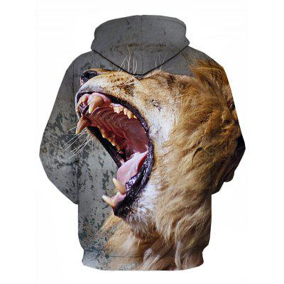 Hooded 3D Lion Print Pullover HoodieMens Hoodies &amp; Sweatshirts<br>Hooded 3D Lion Print Pullover Hoodie<br><br>Clothes Type: Hoodie<br>Material: Cotton, Polyester<br>Occasion: Going Out, Daily Use, Casual<br>Package Contents: 1 x Hoodie<br>Patterns: 3D,Animal<br>Shirt Length: Regular<br>Sleeve Length: Full<br>Style: Fashion<br>Thickness: Regular<br>Weight: 0.4700kg