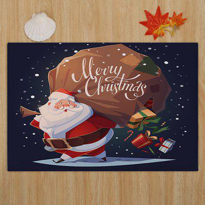 Santa Claus Print Coral Fleece Skidproof Bath MatCarpets &amp; Rugs<br>Santa Claus Print Coral Fleece Skidproof Bath Mat<br><br>Materials: Coral FLeece<br>Package Contents: 1 x Rug<br>Pattern: Gift,Santa Claus<br>Products Type: Bath rugs<br>Shape: Rectangular<br>Style: Festival