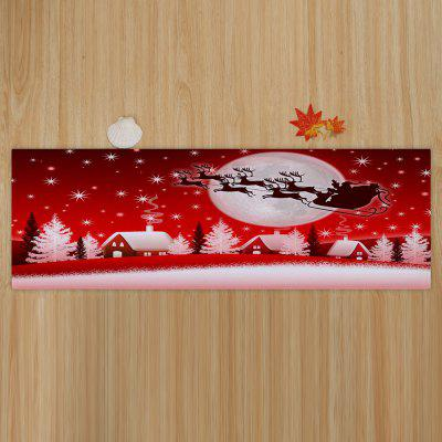 Christmas Sled Moon Print Coral Fleece Antiskid Bath MatCarpets &amp; Rugs<br>Christmas Sled Moon Print Coral Fleece Antiskid Bath Mat<br><br>Materials: Coral FLeece<br>Package Contents: 1 x Rug<br>Products Type: Bath rugs<br>Shape: Rectangular<br>Style: Festival