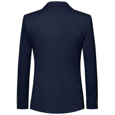 Lapel One Button Blazer with Stripe DetailMens Blazers<br>Lapel One Button Blazer with Stripe Detail<br><br>Closure Type: Single Breasted<br>Material: Polyester<br>Package Contents: 1 x Blazer<br>Shirt Length: Regular<br>Sleeve Length: Long Sleeves<br>Weight: 0.8500kg