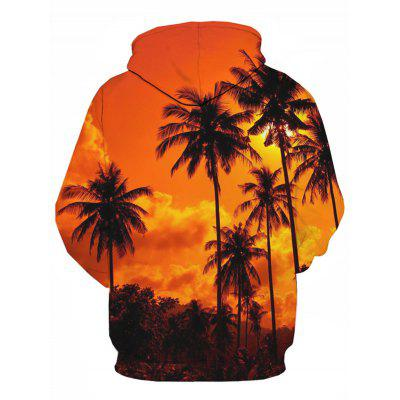 Hooded 3D Hawaiian Trees Print Pullover HoodieMens Hoodies &amp; Sweatshirts<br>Hooded 3D Hawaiian Trees Print Pullover Hoodie<br><br>Clothes Type: Hoodie<br>Material: Cotton, Polyester<br>Occasion: Going Out, Daily Use, Casual<br>Package Contents: 1 x Hoodie<br>Patterns: 3D,Plants<br>Shirt Length: Regular<br>Sleeve Length: Full<br>Style: Fashion<br>Thickness: Regular<br>Weight: 0.5000kg