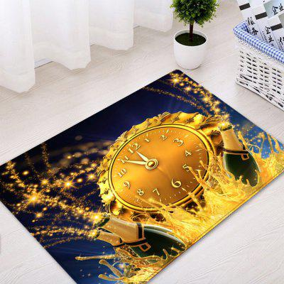 Christmas Beer Clock Pattern Water Absorption Area RugCarpets &amp; Rugs<br>Christmas Beer Clock Pattern Water Absorption Area Rug<br><br>Materials: Flannel<br>Package Contents: 1 x Rug<br>Pattern: Print<br>Products Type: Bath rugs<br>Shape: Rectangle<br>Style: Festival