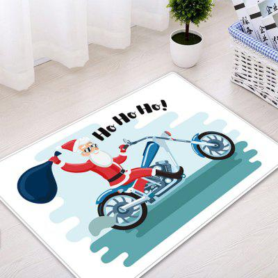 Christmas Santa Motorcycle Pattern Water Absorption Area RugCarpets &amp; Rugs<br>Christmas Santa Motorcycle Pattern Water Absorption Area Rug<br><br>Materials: Flannel<br>Package Contents: 1 x Rug<br>Pattern: Letter,Santa Claus<br>Products Type: Bath rugs<br>Shape: Rectangle<br>Style: Festival
