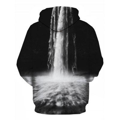 Hooded 3D Falls Print Pullover HoodieMens Hoodies &amp; Sweatshirts<br>Hooded 3D Falls Print Pullover Hoodie<br><br>Clothes Type: Hoodie<br>Material: Cotton, Polyester<br>Occasion: Going Out, Daily Use, Casual<br>Package Contents: 1 x Hoodie<br>Patterns: 3D,Print<br>Shirt Length: Regular<br>Sleeve Length: Full<br>Style: Fashion<br>Thickness: Regular<br>Weight: 0.4900kg