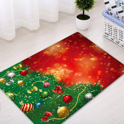 Christmas Pine Tree Baubles Pattern Water Absorption Area RugCarpets &amp; Rugs<br>Christmas Pine Tree Baubles Pattern Water Absorption Area Rug<br><br>Materials: Flannel<br>Package Contents: 1 x Rug<br>Pattern: Ball,Plant<br>Products Type: Bath rugs<br>Shape: Rectangle<br>Style: Festival
