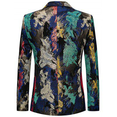 Single Breasted Flap Pockets Colorful BlazerMens Blazers<br>Single Breasted Flap Pockets Colorful Blazer<br><br>Closure Type: Single Breasted<br>Material: Polyester<br>Package Contents: 1 x Blazer<br>Shirt Length: Regular<br>Sleeve Length: Long Sleeves<br>Weight: 0.7900kg