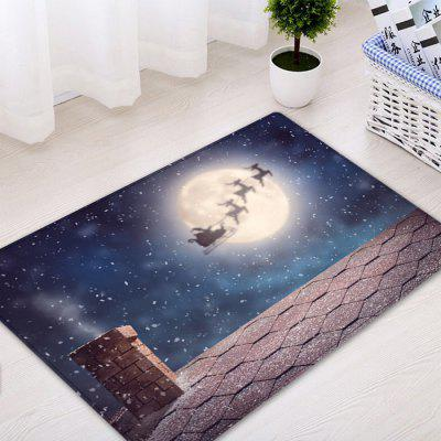 Christmas Night Roof Pattern Water Absorption Area RugCarpets &amp; Rugs<br>Christmas Night Roof Pattern Water Absorption Area Rug<br><br>Materials: Flannel<br>Package Contents: 1 x Rug<br>Pattern: Moon<br>Products Type: Bath rugs<br>Shape: Rectangle<br>Style: Festival