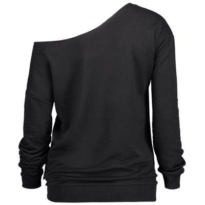 Christmas Skew Neck Graphic Print SweatshirtSweatshirts &amp; Hoodies<br>Christmas Skew Neck Graphic Print Sweatshirt<br><br>Material: Polyester<br>Package Contents: 1 x Sweatshirt<br>Pattern Style: Print<br>Season: Fall, Spring<br>Shirt Length: Regular<br>Sleeve Length: Full<br>Style: Fashion<br>Weight: 0.4100kg