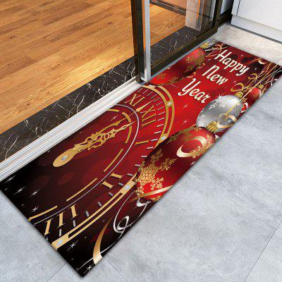 Christmas Balls Clock Print Flannel Skidproof Bath RugCarpets &amp; Rugs<br>Christmas Balls Clock Print Flannel Skidproof Bath Rug<br><br>Materials: Flannel<br>Package Contents: 1 x Rug<br>Pattern: Ball,Letter<br>Products Type: Bath rugs<br>Shape: Rectangular<br>Style: Festival