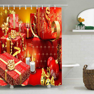 Christmas Gifts Print Waterproof Shower CurtainShower Curtain<br>Christmas Gifts Print Waterproof Shower Curtain<br><br>Materials: Polyester<br>Number of Hook Holes: W59 inch*L71 inch: 10; W71 inch*L71 inch: 12; W71 inch*L79 inch: 12<br>Package Contents: 1 x Shower Curtain 1 x Hooks (Set)<br>Pattern: Gift<br>Products Type: Shower Curtains<br>Style: Festival
