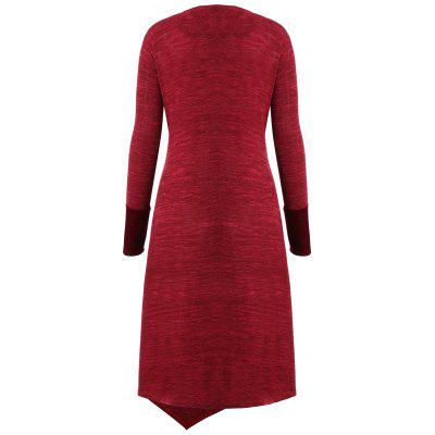 Christmas Plus Size Twist Velvet Panel DressPlus Size Dresses<br>Christmas Plus Size Twist Velvet Panel Dress<br><br>Dresses Length: Mid-Calf<br>Material: Polyester, Spandex<br>Neckline: V-Neck<br>Package Contents: 1 x Dress<br>Pattern Type: Others<br>Season: Winter, Fall<br>Silhouette: Asymmetrical<br>Sleeve Length: Long Sleeves<br>Style: Cute<br>Weight: 0.2750kg<br>With Belt: No