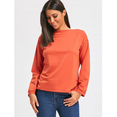 Boat Neck Long Sleeve T-shirtBlouses<br>Boat Neck Long Sleeve T-shirt<br><br>Collar: Boat Neck<br>Material: Cotton, Polyester<br>Package Contents: 1 x T-shirt<br>Pattern Type: Solid<br>Season: Fall, Spring<br>Shirt Length: Regular<br>Sleeve Length: Full<br>Style: Fashion<br>Weight: 0.3500kg