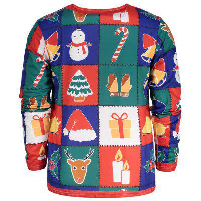 Christmas Tree Santa Print Long Sleeve T-shirtMens Long Sleeves Tees<br>Christmas Tree Santa Print Long Sleeve T-shirt<br><br>Collar: Crew Neck<br>Material: Polyester, Spandex<br>Package Contents: 1 x T-shirt<br>Pattern Type: Color Block, Star, Print<br>Season: Fall, Spring, Summer<br>Sleeve Length: Full<br>Style: Fashion<br>Weight: 0.3200kg