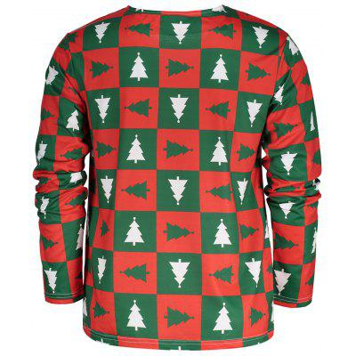 Crew Neck Long Sleeve Christmas T-shirtMens Long Sleeves Tees<br>Crew Neck Long Sleeve Christmas T-shirt<br><br>Collar: Crew Neck<br>Material: Polyester, Spandex<br>Package Contents: 1 x T-shirt<br>Pattern Type: Character, Print, Letter<br>Season: Fall, Spring, Summer<br>Sleeve Length: Full<br>Style: Fashion<br>Weight: 0.3200kg