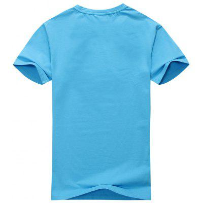 Men Plain Short Sleeve TeeMens Short Sleeve Tees<br>Men Plain Short Sleeve Tee<br><br>Collar: Round Neck<br>Material: Cotton Blends<br>Package Contents: 1 x Tee<br>Pattern Type: Solid<br>Sleeve Length: Short<br>Style: Casual<br>Weight: 0.2500kg