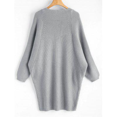 Longline Dolman Sleeve Open CardiganSweaters &amp; Cardigans<br>Longline Dolman Sleeve Open Cardigan<br><br>Collar: Collarless<br>Material: Acrylic, Polyester<br>Package Contents: 1 x Cardigan<br>Sleeve Length: Full<br>Style: Casual<br>Type: Cardigans<br>Weight: 0.8100kg