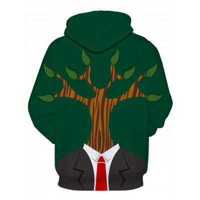 Hooded 3D Tree Man Print Pullover HoodieMens Hoodies &amp; Sweatshirts<br>Hooded 3D Tree Man Print Pullover Hoodie<br><br>Clothes Type: Hoodie<br>Material: Cotton, Polyester<br>Occasion: Going Out, Daily Use, Casual<br>Package Contents: 1 x Hoodie<br>Patterns: 3D,Character<br>Shirt Length: Regular<br>Sleeve Length: Full<br>Style: Fashion<br>Thickness: Regular<br>Weight: 0.4800kg