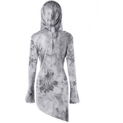 Plus Size Tie Dye Asymmetrical Tunic HoodiePlus Size Tops<br>Plus Size Tie Dye Asymmetrical Tunic Hoodie<br><br>Material: Rayon, Spandex<br>Package Contents: 1 x Hoodie<br>Pattern Style: Others<br>Season: Fall, Spring<br>Shirt Length: Long<br>Sleeve Length: Full<br>Style: Casual<br>Weight: 0.3800kg
