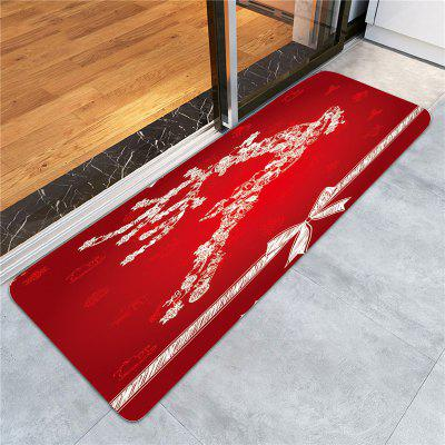 Snowflake Elk Printed Skidproof RugCarpets &amp; Rugs<br>Snowflake Elk Printed Skidproof Rug<br><br>Materials: Coral FLeece<br>Package Contents: 1 x Rug<br>Pattern: Animal<br>Products Type: Bath rugs<br>Shape: Rectangle<br>Style: Festival