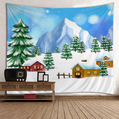 Wall Hanging Art Christmas Trees Houses Print TapestryTapestries<br>Wall Hanging Art Christmas Trees Houses Print Tapestry<br><br>Feature: Washable<br>Material: Polyester<br>Package Contents: 1 x Tapestry<br>Shape/Pattern: Tree<br>Style: Festival<br>Theme: Christmas<br>Weight: 0.3000kg
