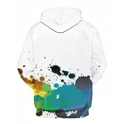 Hooded 3D Colorful Paint Splatter Print Pullover HoodieMens Hoodies &amp; Sweatshirts<br>Hooded 3D Colorful Paint Splatter Print Pullover Hoodie<br><br>Clothes Type: Hoodie<br>Material: Cotton, Polyester<br>Occasion: Going Out, Daily Use, Casual<br>Package Contents: 1 x Hoodie<br>Patterns: 3D,Painting<br>Shirt Length: Regular<br>Sleeve Length: Full<br>Style: Fashion<br>Thickness: Regular<br>Weight: 0.4800kg