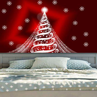 Sparkling Christmas Tree Print Wall Decor TapestryTapestries<br>Sparkling Christmas Tree Print Wall Decor Tapestry<br><br>Feature: Removable, Washable<br>Material: Cotton, Polyester<br>Package Contents: 1 x Tapestry<br>Shape/Pattern: Tree<br>Style: Festival<br>Theme: Christmas<br>Weight: 0.2000kg