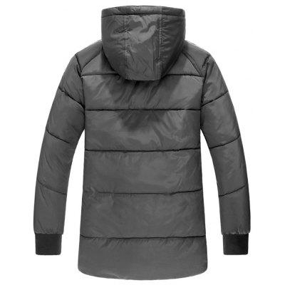 Side Stripe Zip Up Hooded Padded CoatMens Jackets &amp; Coats<br>Side Stripe Zip Up Hooded Padded Coat<br><br>Clothes Type: Padded<br>Collar: Hooded<br>Material: Polyester<br>Package Contents: 1 x Coat<br>Season: Winter<br>Shirt Length: Regular<br>Sleeve Length: Long Sleeves<br>Style: Casual<br>Weight: 1.2400kg