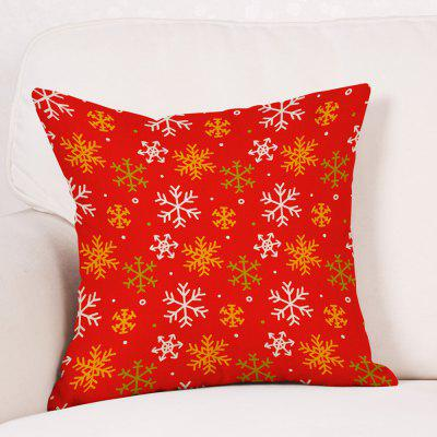 Snowflakes Christmas Print Sofa Linen PillowcasePillow<br>Snowflakes Christmas Print Sofa Linen Pillowcase<br><br>Material: Linen<br>Package Contents: 1 x Pillowcase<br>Pattern: Snowflake<br>Shape: Square<br>Style: Festival<br>Weight: 0.0900kg